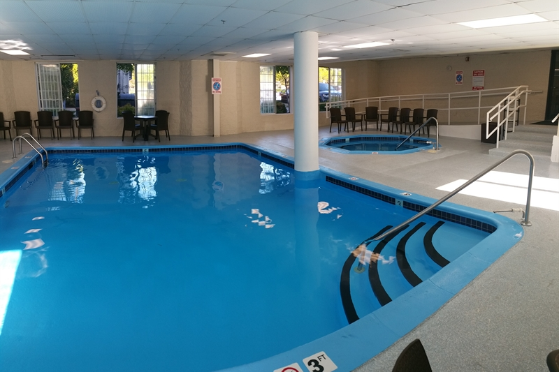 Heated Indoor Pool & Spa
